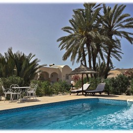 villa a djerba avec piscine
